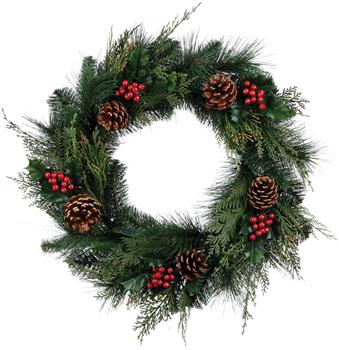 Christmas Greenery and Silks